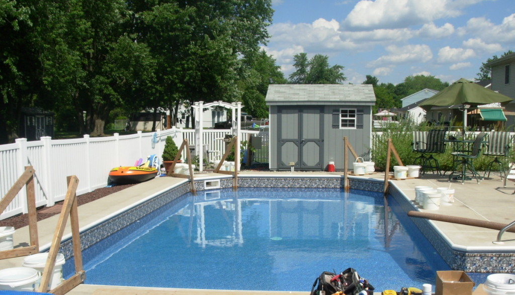 In-ground pool in Birdsboro