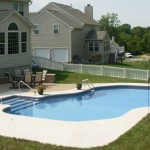Pool with Mountain Lake Design - Douglassville, PA