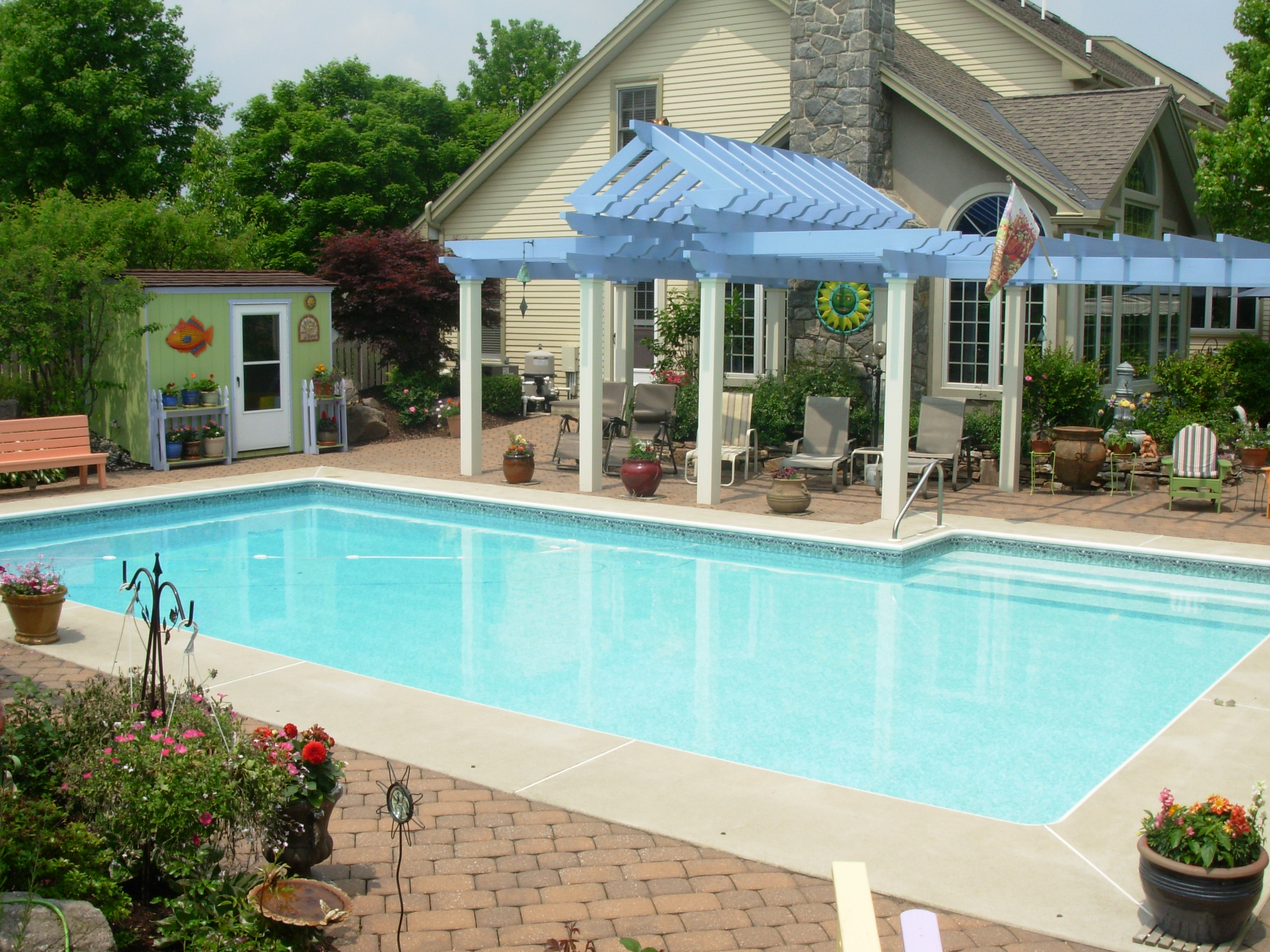 20x38 Pool Rectangle Pool - Wyomissing, PA