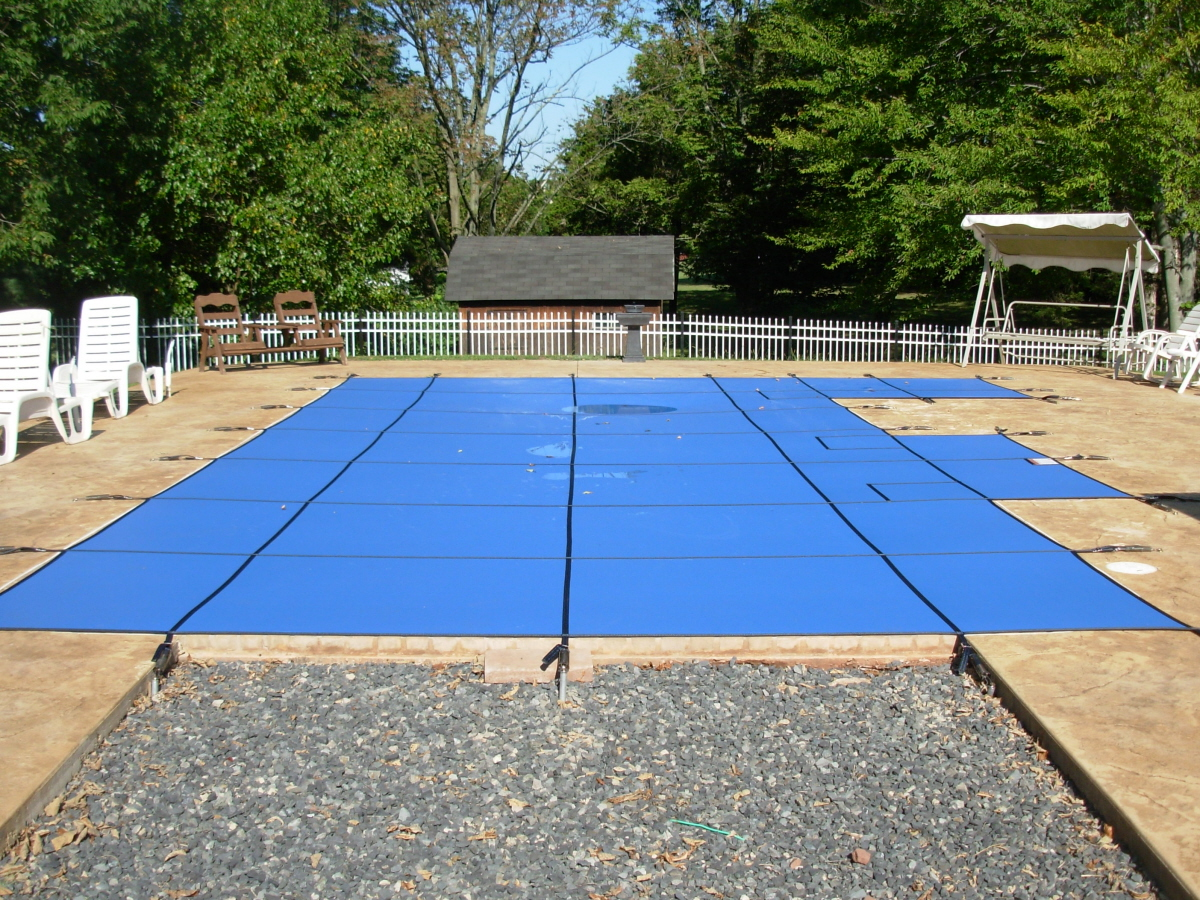 Blue Solid Lite Safety Cover - Birdsboro, PA