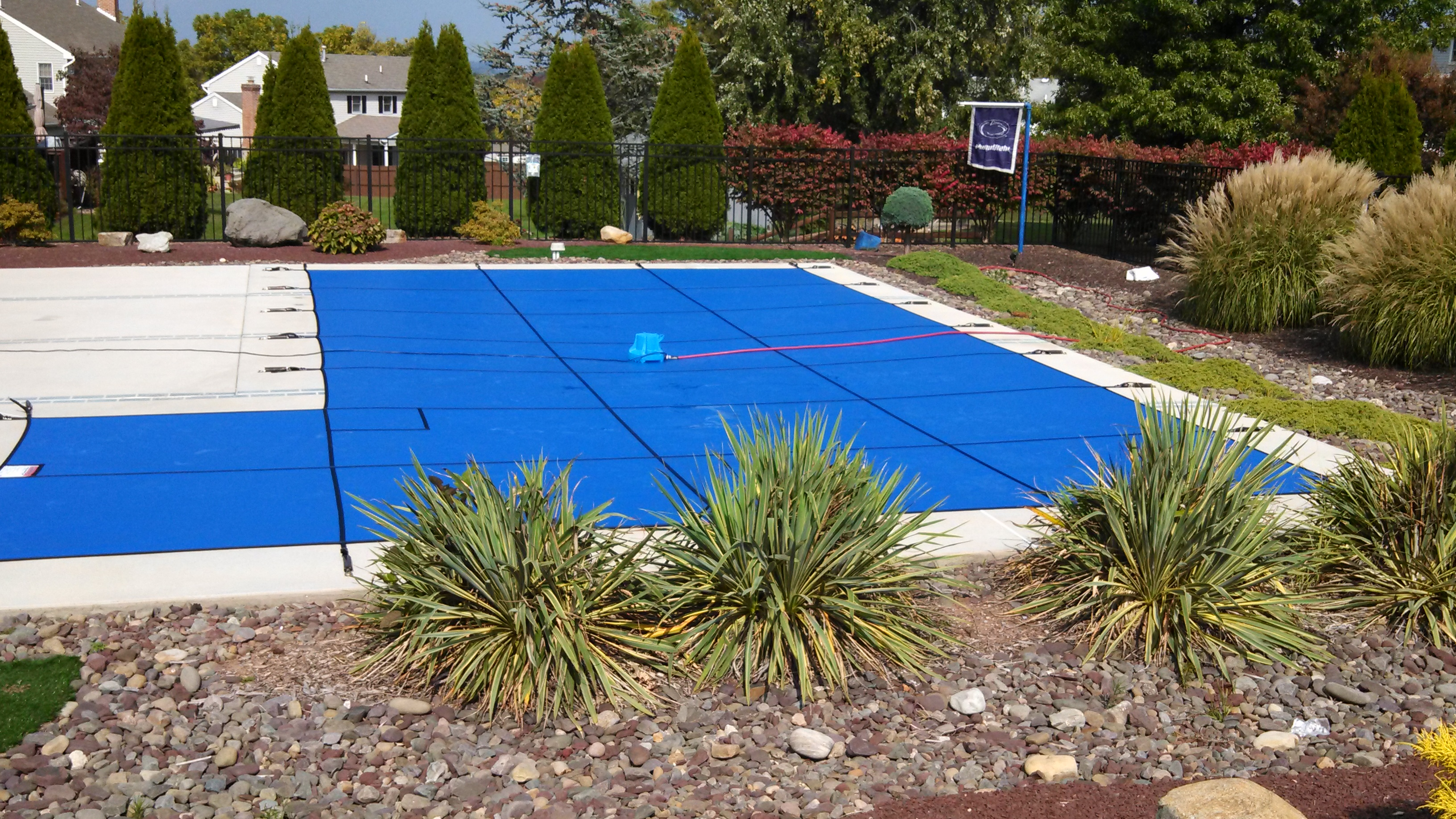 Blue Solid Lite Safety Cover - Sinking Spring, PA